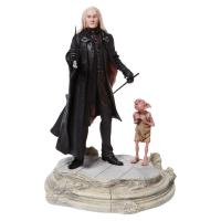 Lucious Malfoy & Dobby The House Elf  Harry Potter Figure Diorama