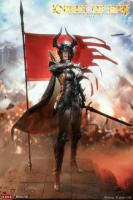 Female Knight of Fire In Black Armor Sixth Scale Collectible Figure