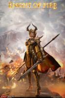 Female Knight of Fire In Golden Armor Sixth Scale Collectible Figure