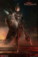 Female Royal Defender In Black Armor Sixth Scale Figure