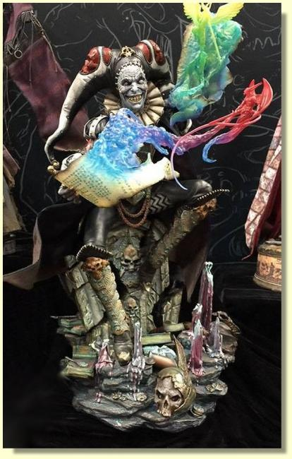 Malavestros The Deaths Chronicler-Fool Exclusive Premium Format Figure