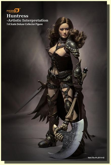 Huntress Black Costume Sixth Scale Deluxe Collector Figure