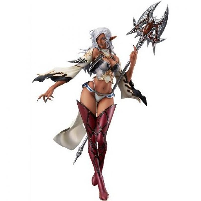 Dark Elf And Daimon Crystal Brown Anime Figure