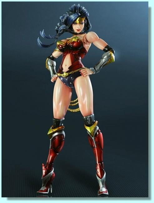 Wonder Woman Play Arts Kai Variant ComCon Action Figure