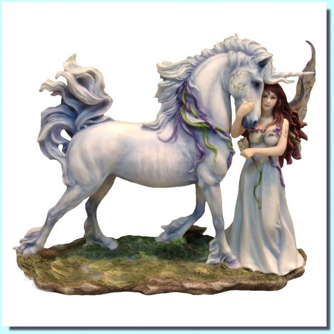 Long Live Magic The Fairy and Unicorn Premium Figure Diorama víla a jednorožec soška