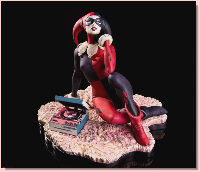 Harley Quinn Waiting for My J Man Statue