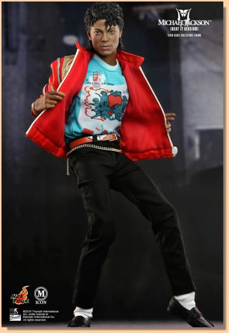 Michael Jackson BEAT IT Version Service Sixth Scale Collectible Figure