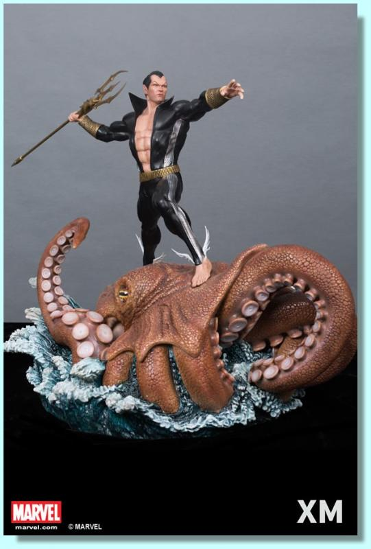 Namor Atop An Octopus Premium Collectibles Quarter Scale Statue Diorama