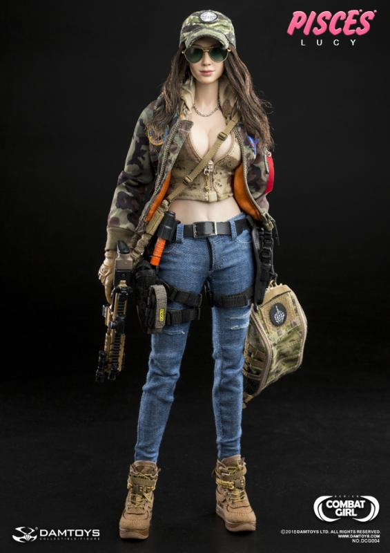 LUCY Combat Girl Sixth Scale Collector Figure