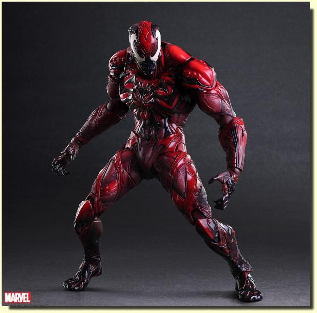 Carnage Play Arts Kai Action Figure