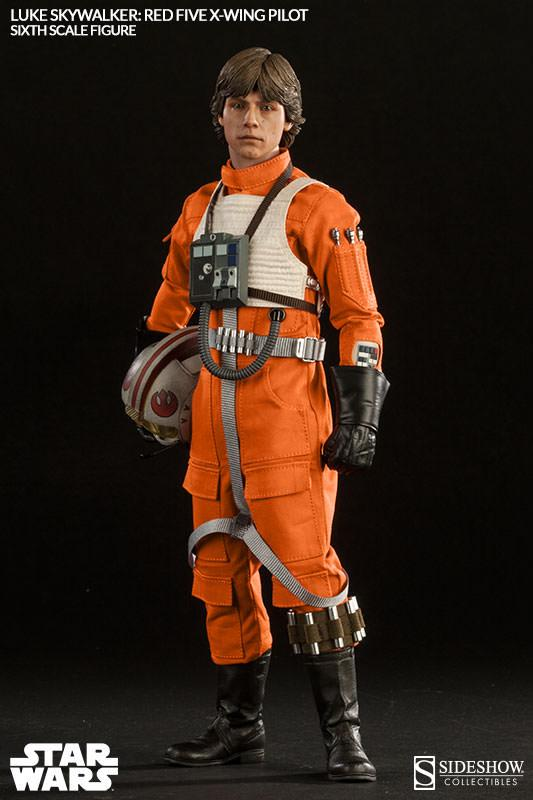Luke Skywalker Red Five X-Wing Pilot Star Wars Sixth Scale Collectible Figure  Hvězdné války