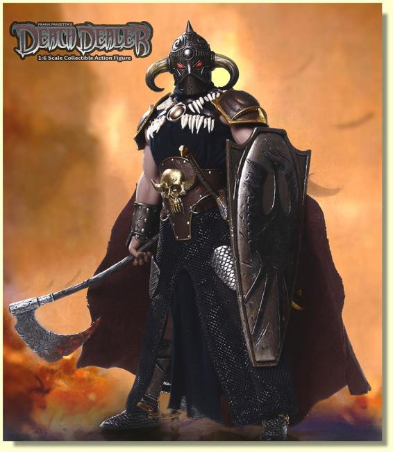 Death Dealer Sixth Scale Collector Action Figure