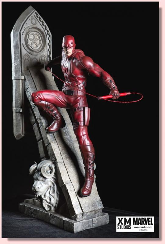 Daredevil the Man Without Fear Quarter Scale Premium Collectible Statue