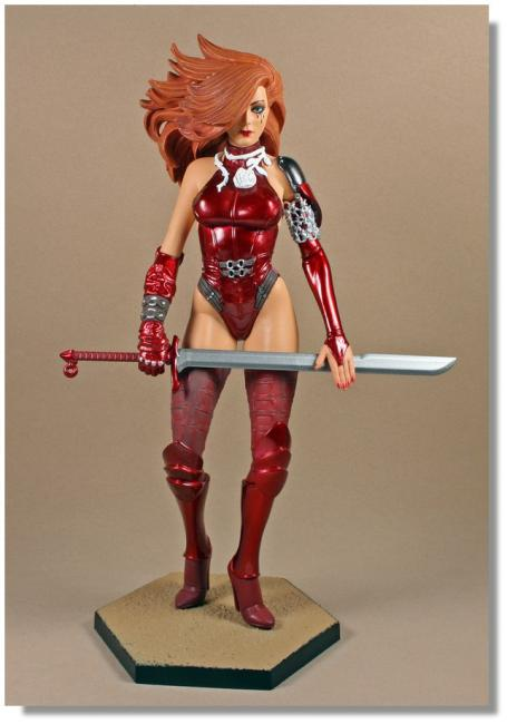 Dawn Girl The Executioner Sixth Scale Statue