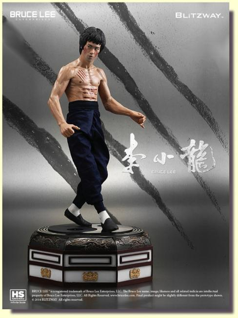Bruce Lee Tribute Third Scale Statue