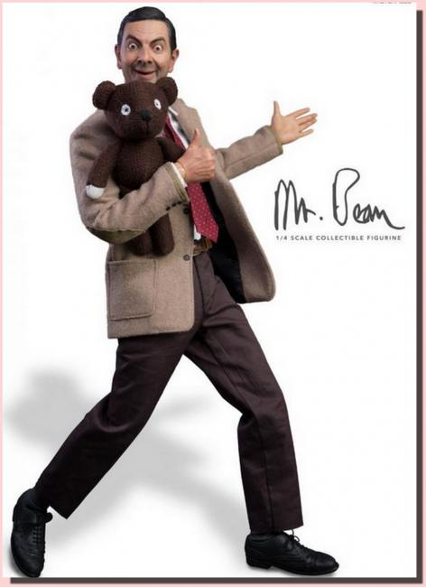 Rowan Atkinson As Mr. Bean Sixth Scale Masterpiece Figure