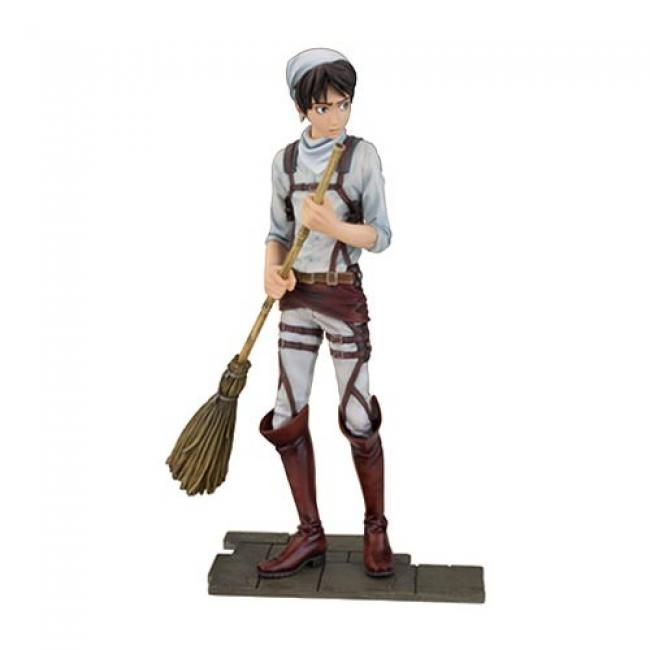 Eren Jaeger Cleaning Version Statue