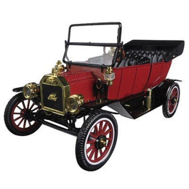 Ford Model T tourig Red 1/18 Die-Cast Vehicle