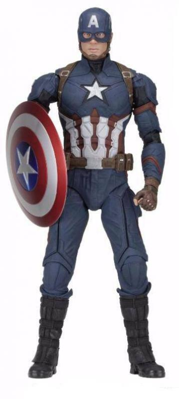 Capitain America The Civil War Quarter Scale Statue