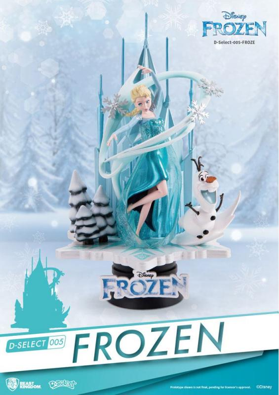 Elsa The Frozen D-Select Diorama