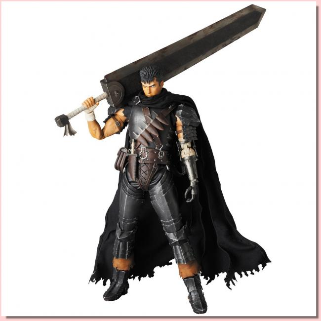 Guts The Dark Knight Real Action Hero Figure