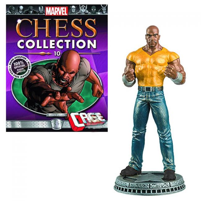 Luke Cage White Pawn Chess Piece with Magazine