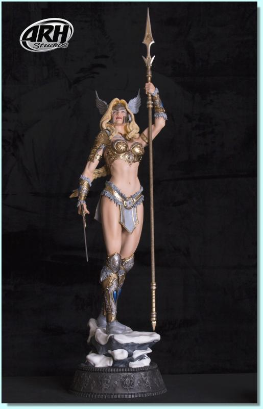 Valkyrie The Norse Goddess Quarter Scale Artist Proof Statue