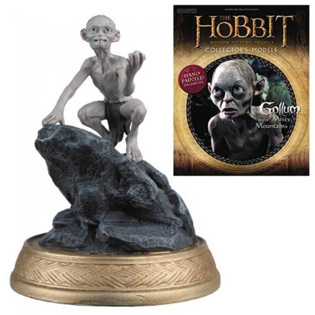 Gollum Misty Mountains Figure with Collector Magazine 21