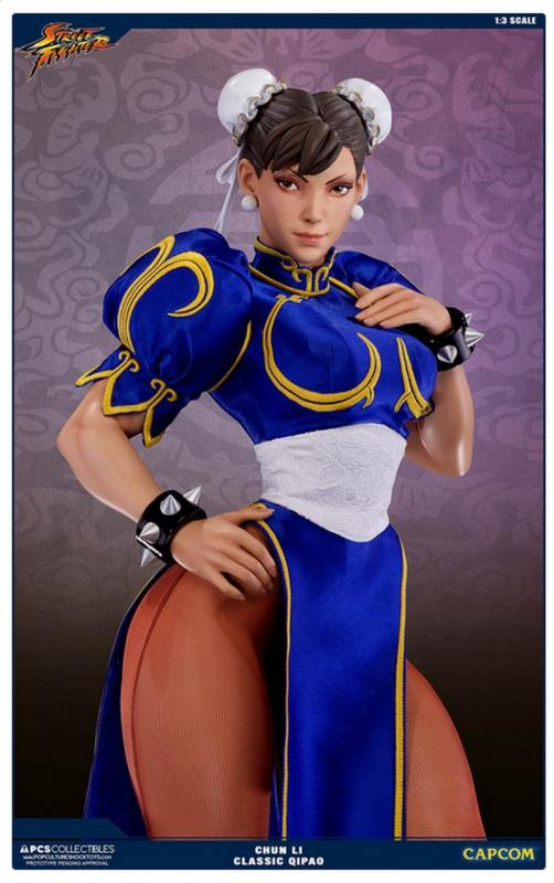 CHUN LI The Classic Qipao Exclusive Third Scale Collectible Statue