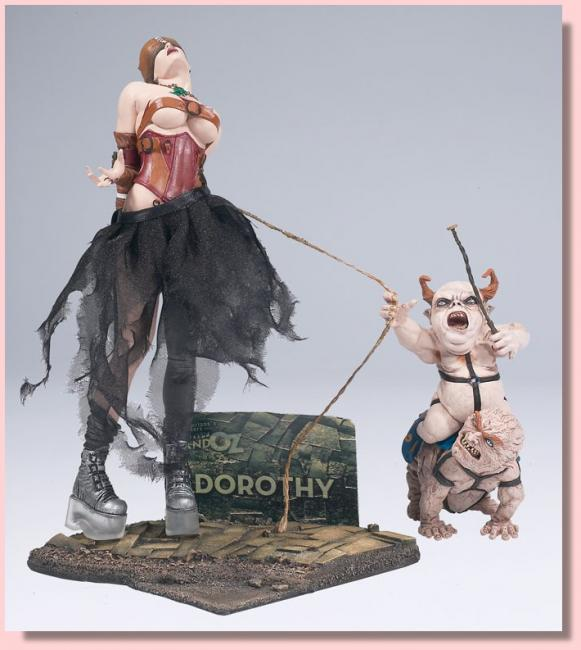 Dorothy The Twisted Land of Oz Action Figure