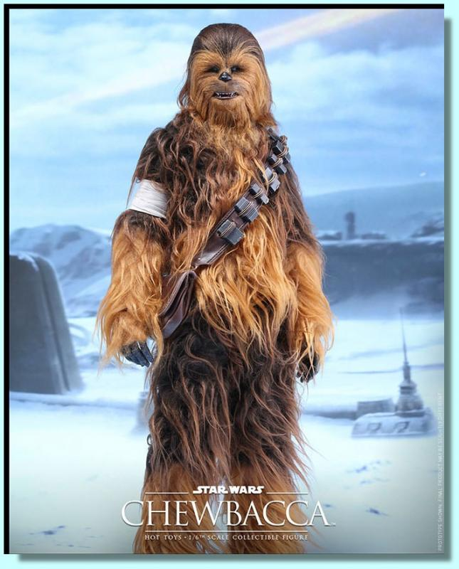 Chewbacca Star Wars Sixth Scale Collectible Figure  hvězdné války