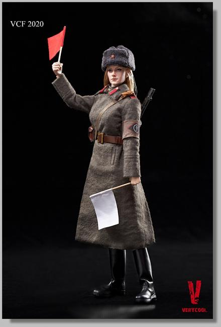 Soviet Red Army Female Soldier Sixth Scale Collector Figure