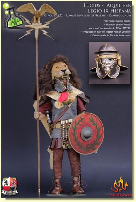 Lucius Duccius Rufinus Sixth Scale Collectible Action Figure