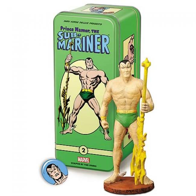 Sub-Mariner Statue in The Tin Box