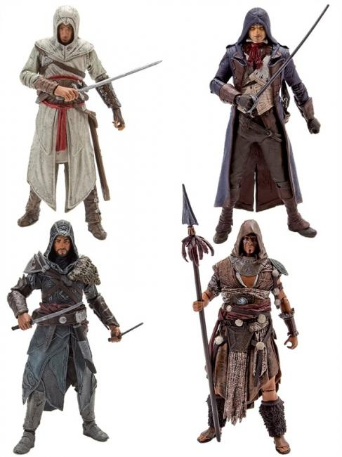 Altair Ibn-LaAhad Ezio Auditore Ah Tabai Secret Assassin s Creed III Action Figure Set