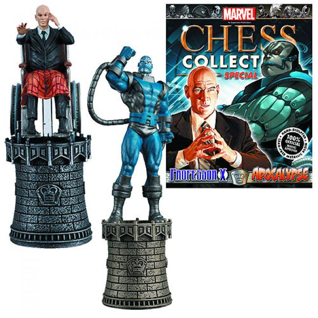 Professor X and Apocalypse Chess Piece with Magazine vychází v únoru 2016