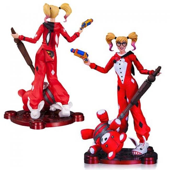 Harley Quinn Pajama Party Figure