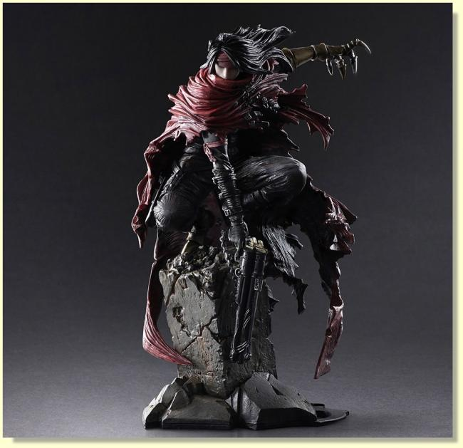 Vincent Valentine Play Arts Kai Action Figure