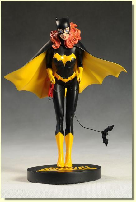 batgirl pin up cover girls statue. Black Bedroom Furniture Sets. Home Design Ideas