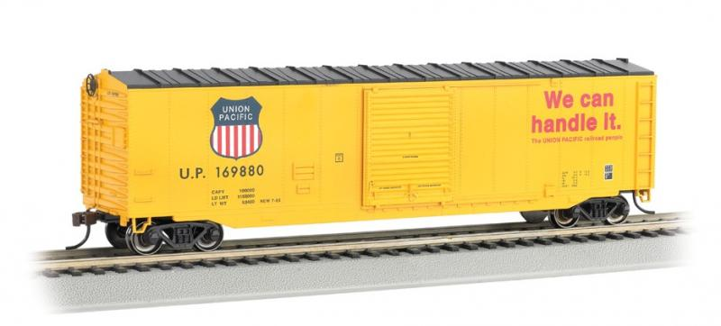 Union Pacific #169880 HO Sliding Door Box Car