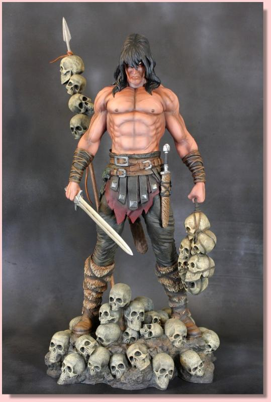 Conan the Barbarian Archive Quarter Scale Statue