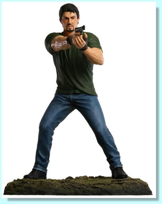 Sylvester Stallone As Barney Ross Sixth Scale Statue