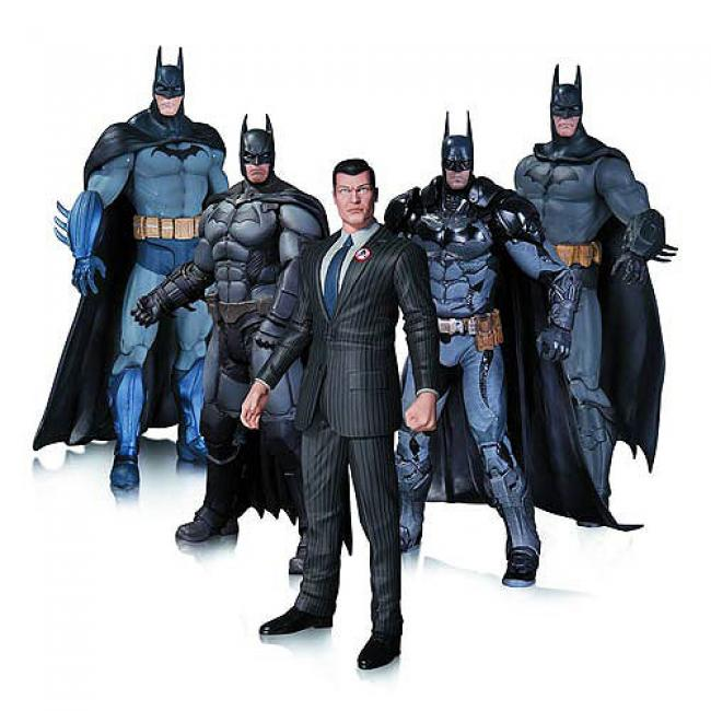 Batman Five Action Figures Pack