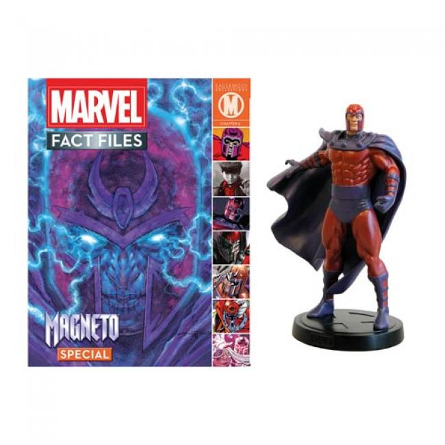 Magneto Statue with Magazine