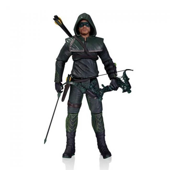 Oliver Queen (aka Green Arrow) Hooded Outfit Action Figure