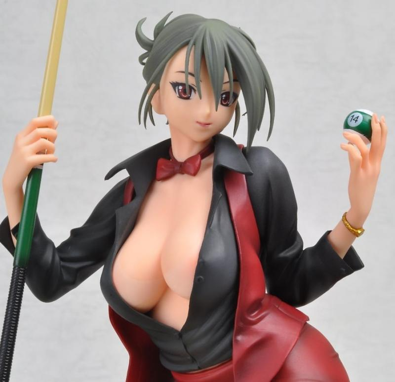 Hustler Cardinal Red Billiard Player Sexy Anime Figure