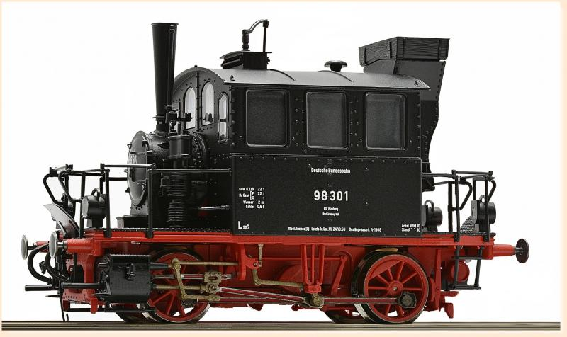 Deutsche Bundesbahn #98.301 HO BR Steam Locomotive DCC & Sound