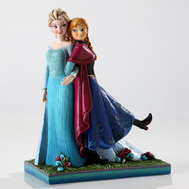 Sisters Forever Anna And Elsa The Frozen Disney Statue Diorama