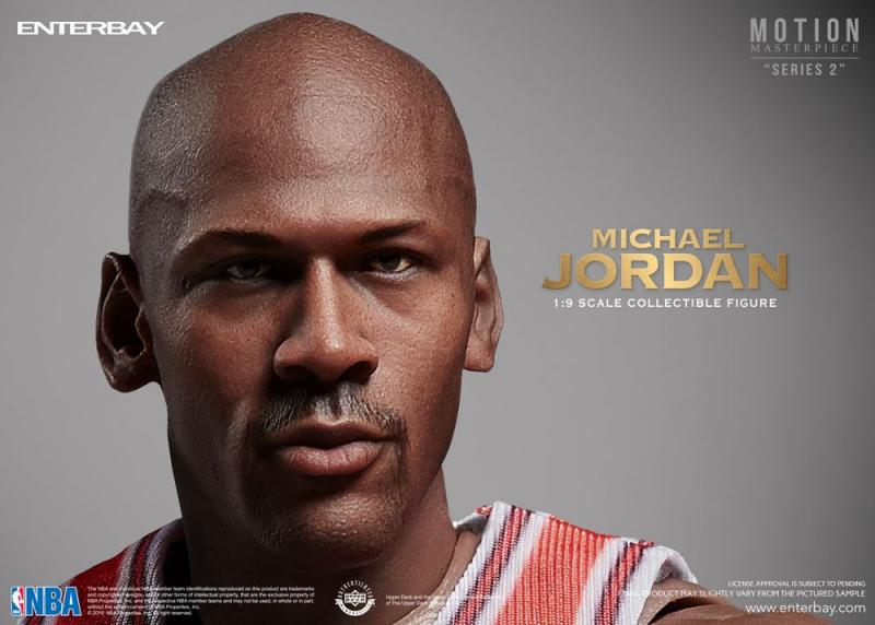 Michael Jordan NBA Collection Motion Masterpiece Collectible Figure
