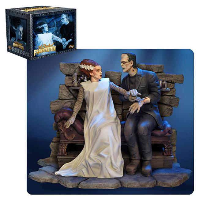 Bride & Monster Pre-Assembled Model Kit: